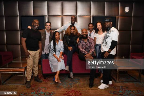 Reggie Ayers Aziel Colon Brittany Presley Yolanda Adams Mark Hubbard Aaron Lindsey Aaron Lindsey II Kelley Purcell and CA Purcell attend the...
