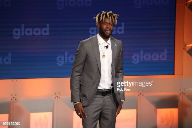 Reggie Bullock attends the 29th Annual GLAAD Media Awards at Mercury Ballroom at the New York Hilton on May 5 2018 in New York City