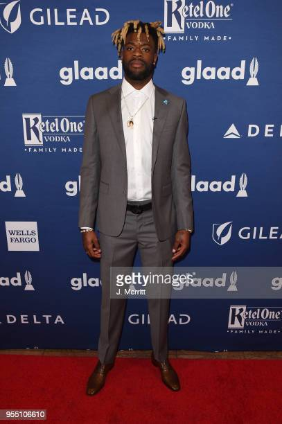Reggie Bullock attends the 29th Annual GLAAD Media Awards at The Hilton Midtown on May 5 2018 in New York City