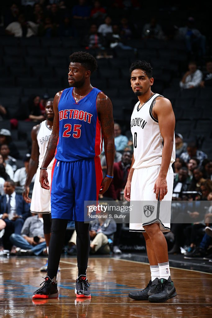 Detroit Pistons v Brooklyn Nets