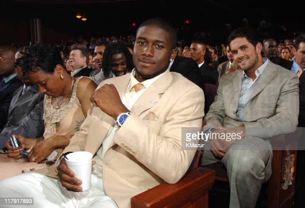 Reggie Bush and Matt Leinart, winners Best Game for the USC vs. Texas Rose Bowl **Exclusive**