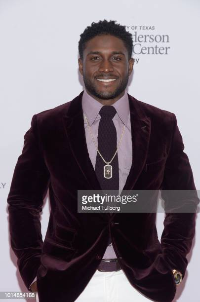 Reggie Bush attends the 18th Annual Harold and Carole Pump Foundation Gala at The Beverly Hilton Hotel on August 10, 2018 in Beverly Hills,...