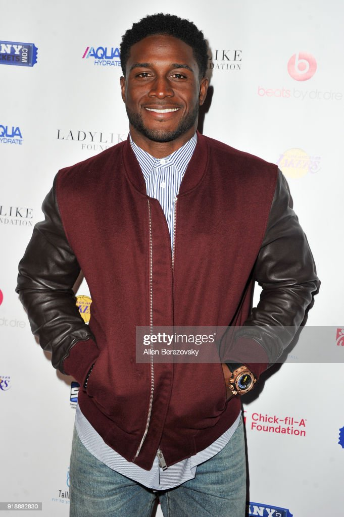 Reggie Bush attends the NBA All-Star Bowling Classic at Lucky Strike LA Live on February 15, 2018 in Los Angeles, California.
