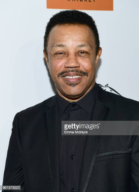 Reggie Calloway attends the SixthAnnual Star Studded Unbridled Eve Gala at Bardot on January 4 2018 in Hollywood California