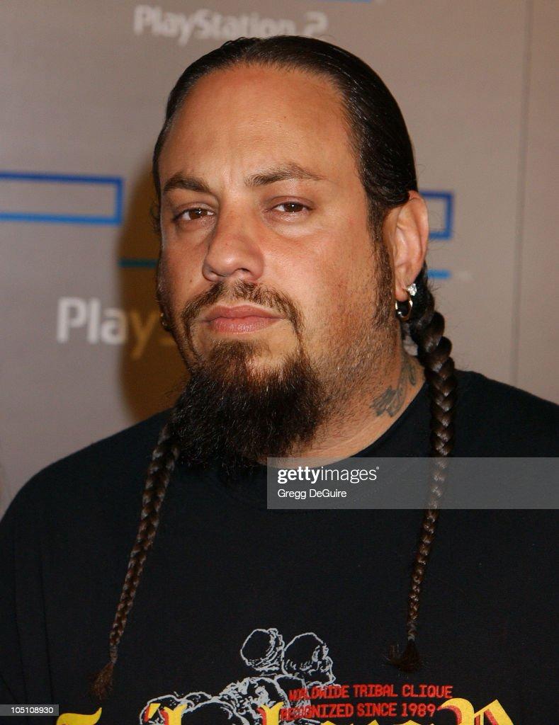 Reggie 'Fieldy' Arvizu of 'Korn' during Playstation 2 'Playa Del Playstation' Party at Viceroy Hotel in Santa Monica, California, United States.