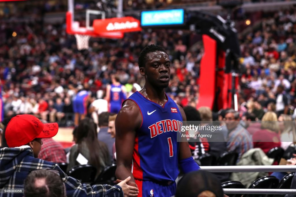 NBA: Chicago Bulls v Detroit Pistons : News Photo