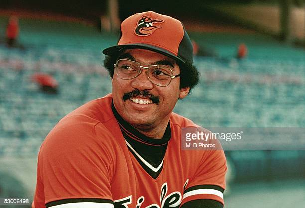 Reggie Jackson of the Baltimore Orioles poses for a photo during the 1976 season
