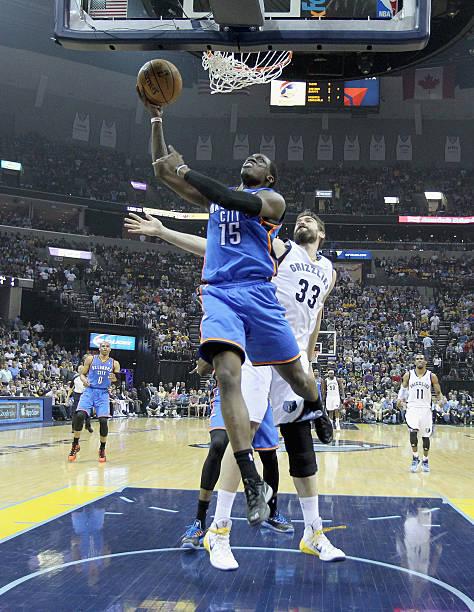 Reggie Jackson of the Oklahoma City Thunder