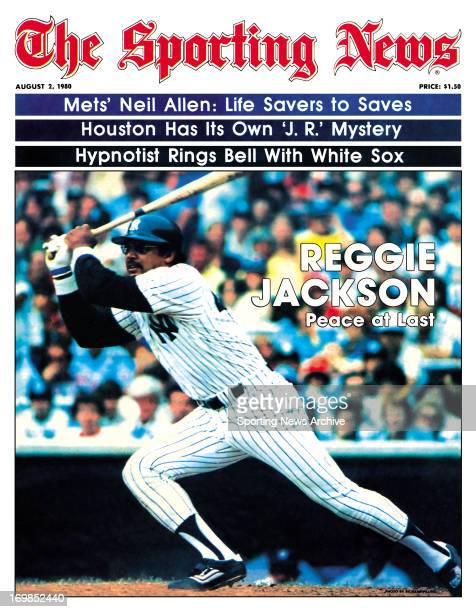 New York Yankees OF Reggie Jackson August 2 1980 Reggie Jackson Peace at Last