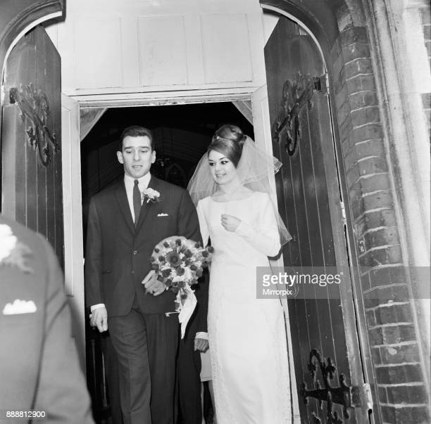 Reggie Kray weds Francis Shea at the St Paul's Church London 19th April 1965