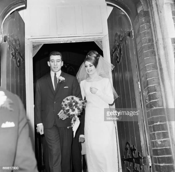Reggie Kray weds Francis Shea at the St Paul's Church London 19th April 1965