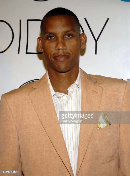 Reggie Miller during Fall 2006 Issue Launch of Nylon Guys Magazine Hosted by Sean Diddy Combs at Bungalow 8 in New York City New York United States