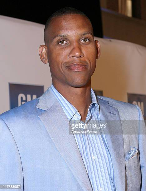 Reggie Miller during General Motors Presents 3rd Annual GM AllCar Showdown Hosted by Shaquille O'Neal Red Carpet at Paramount Studios in Hollywood...