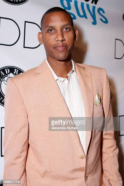 Reggie Miller during Sean 'Diddy' Combs Hosts the Launch of Nylon Guys Fall 2006 Issue at Bungalow 8 in New York City New York United States