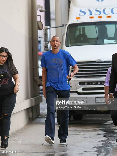 Reggie Miller is seen at 'Jimmy Kimmel Live' on March 29 2016 in Los Angeles California