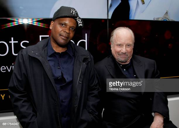 Reggie Rock Bythewood and Richard Dreyfuss attend Fox's 'Shots Fired' FYC event after party on May 10 2017 in North Hollywood California