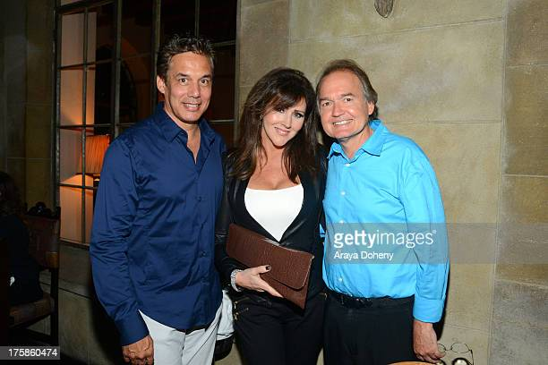 Reggie Salazar Krista Keller Stodden and Dr Tim Neavin attend an exclusive party to celebrate the launch of Passion and Pleasure hosted by Tracey...