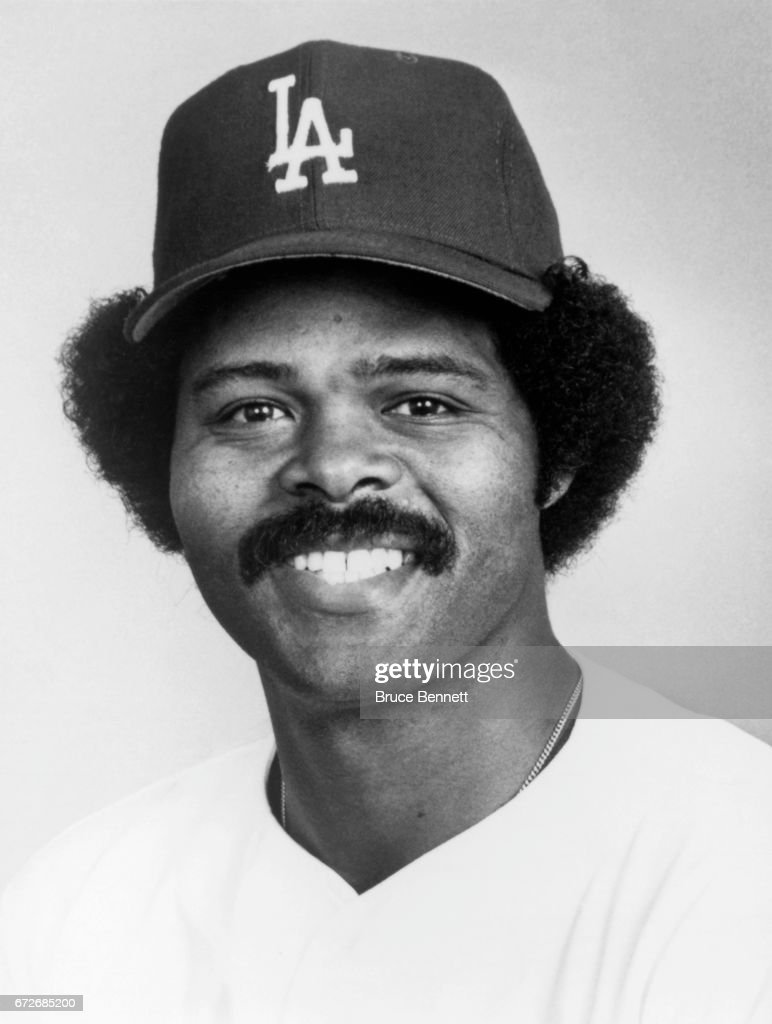 Reggie Smith #8 of the Los Angeles Dodgers poses for a portrait circa March, 1978 in Vero Beach, Florida.
