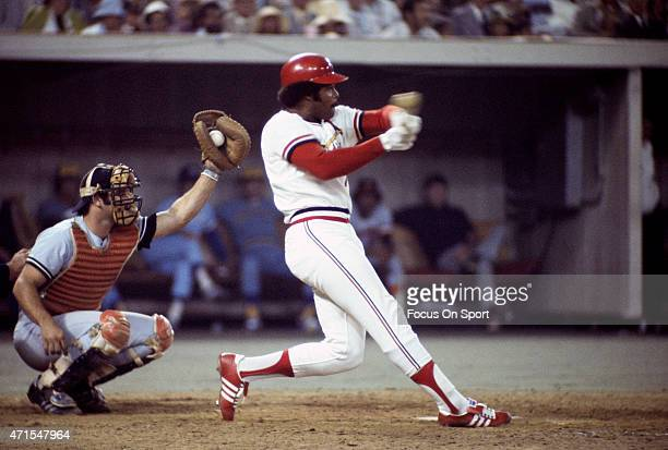 Reggie Smith of the St Luis Cardinals and the National League AllStars pitches against the American League All Stars during Major League Baseball...