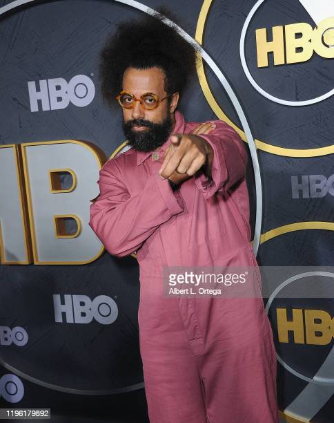 Reggie Watts arrives for the HBO's Post Emmy Awards Reception held at The Plaza at the Pacific Design Center on September 22, 2019 in West Hollywood,...
