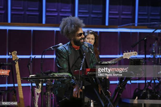 Reggie Watts during 'The Late Late Show with James Corden' Tuesday August 8 2017 On The CBS Television Network