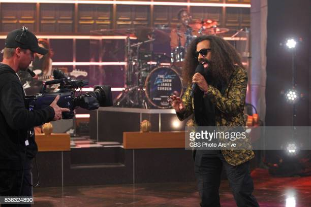 Reggie Watts during 'The Late Late Show with James Corden' Wednesday August 9 2017 On The CBS Television Network