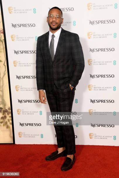 Reggie Yates attends the EE British Academy Film Awards nominees party at Kensington Palace on February 17 2018 in London England
