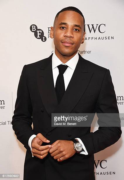 Reggie Yates attends the IWC Schaffhausen Dinner in Honour of the BFI at Rosewood London on October 4 2016 in London England
