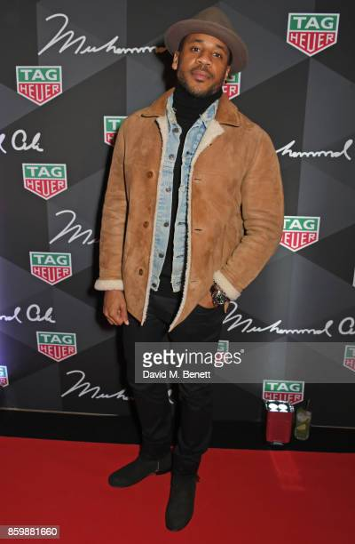 Reggie Yates attends the launch of the TAG Heuer Muhammad Ali Limited Edition Timepieces at BXR Gym on October 10 2017 in London England
