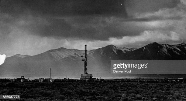 Regging for nuclear device emplacement will at ***** Nevada Test Site Credit Denver Post