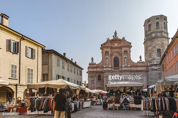 reggio emilia, piazza san prospero - emilia romagna, italy - レッジョエミリア ストックフォトと画像