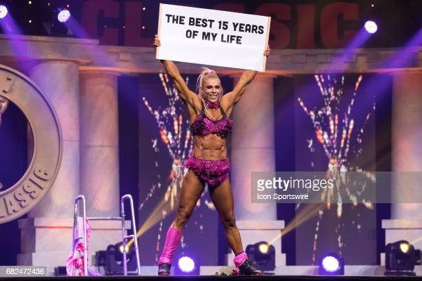 Regiane Da Silva competes in Fitness International as part of the Arnold Sports Festival on March 3 at the Greater Columbus Convention Center in...