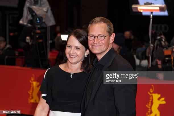 Regierender Bürgermeister Michael Müller und seine Ehefrau Claudia Müller auf der Berlinale Preisverleihung am
