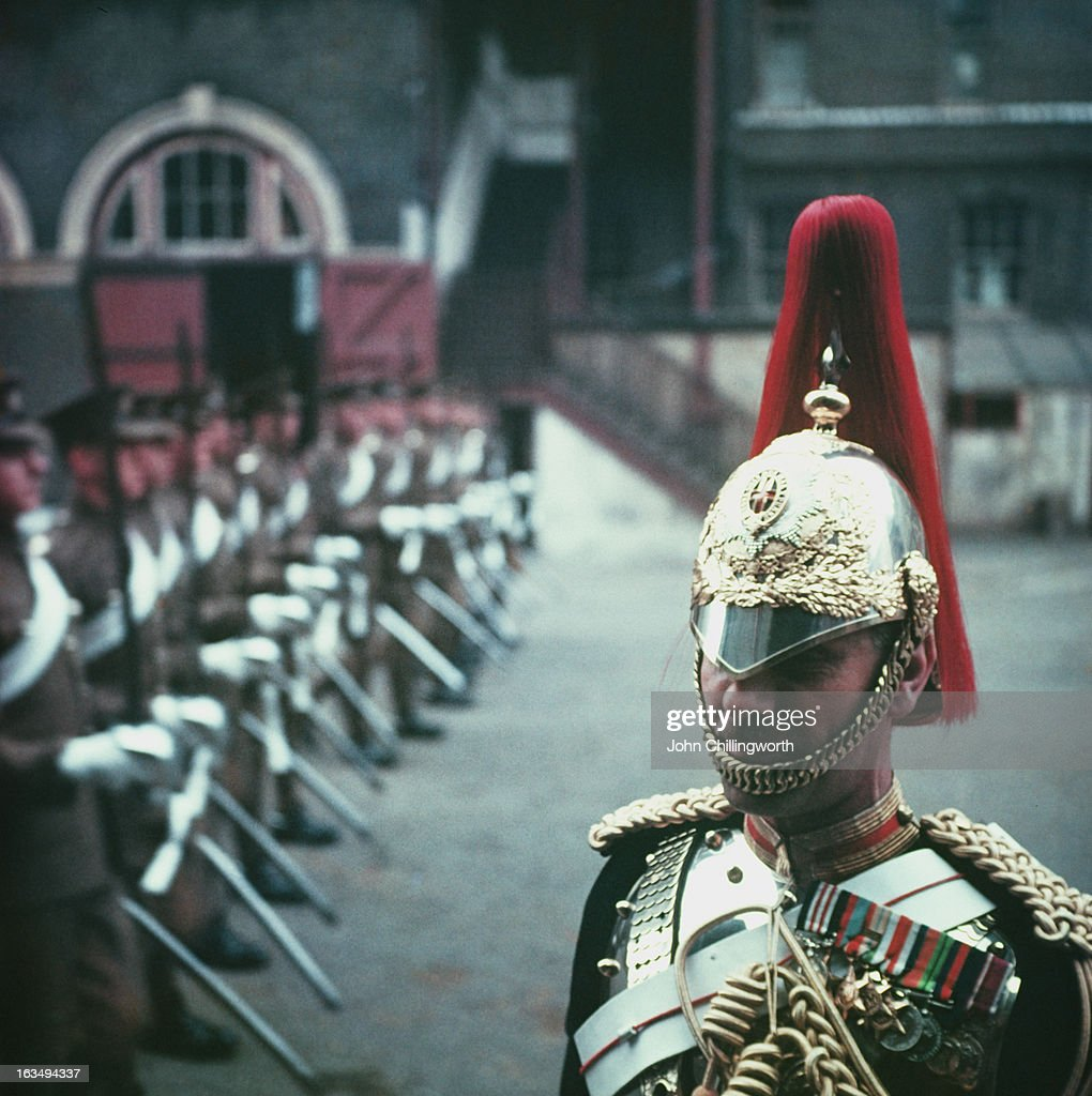 Regimental Corporal-Major Charles Maxted, of the Royal Horse Guards