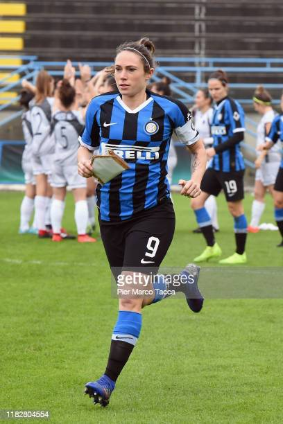 Regina Baresi during the Women Serie A match between FC Internazionale and Orobica at Campo Sportivo F Chinetti on November 15 2019 in Solbiate Arno...