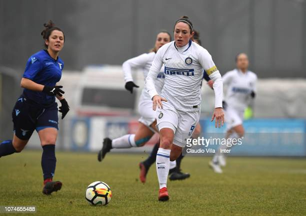 Regina Baresi of FC Internazionale in action during the Women Serie B match between FC Internazionale Women and SS Lazio at Suning Youth Development...