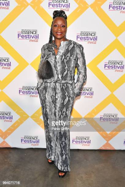 Regina Belle poses at the 2018 Essence Festival presented by CocaCola at Ernest N Morial Convention Center on July 8 2018 in New Orleans Louisiana