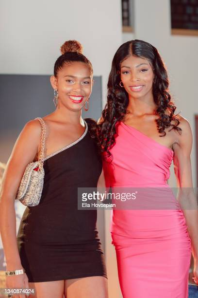 Regina Bowman and guest attend The One And Only, Dick Gregory, Album Release Event on September 16, 2021 in Burbank, California.
