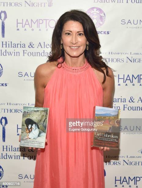 Regina Calcaterra attends Authors Night 2017 At The East Hampton Library at The East Hampton Library on August 12 2017 in East Hampton New York