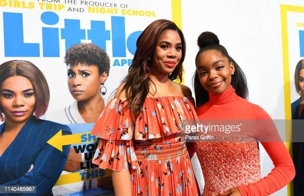 Regina Hall and Marsai Martin attend Little Atlanta red carpet screening at Regal Atlantic Station on April 04 2019 in Atlanta Georgia
