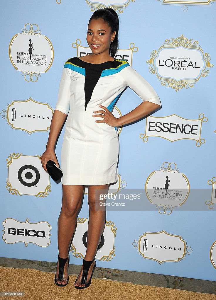 Regina Hall arrives at the 6th Annual ESSENCE Black Women In Hollywood Luncheon at Beverly Hills Hotel on February 21, 2013 in Beverly Hills, California.