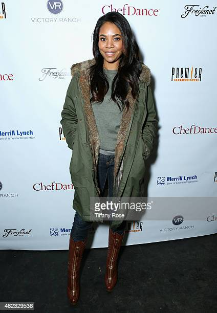 Regina Hall attends ChefDance 2015 presented by Victory Ranch and sponsored by Merrill Lynch, Freixenet, Anchor Distilling, and Premier Meat Co. On...