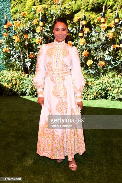 Regina Hall attends the 10th Annual Veuve Clicquot Polo Classic Los Angeles at Will Rogers State Historic Park on October 05 2019 in Pacific...
