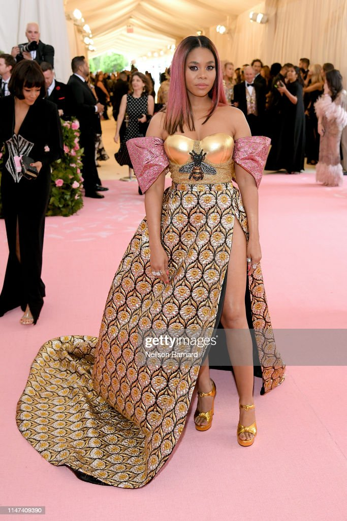 The 2019 Met Gala Celebrating Camp: Notes on Fashion - Arrivals : Nachrichtenfoto