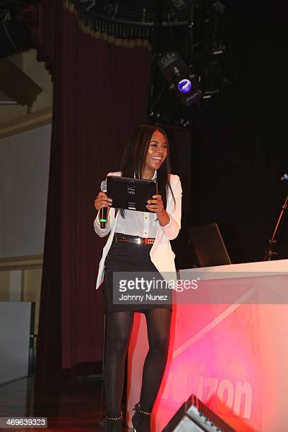 Regina Hall attends the Harlem To Hollywood party during NBA AllStar Weekend 2014 at Harrah's Casino on February 15 2014 in New Orleans Louisiana
