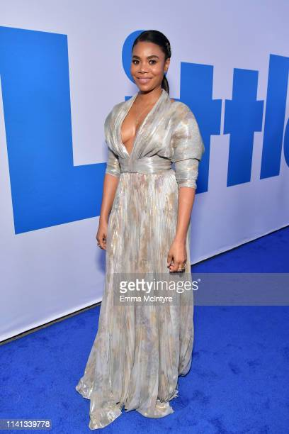Regina Hall attends the premiere of Universal Pictures Little at Regency Village Theatre on April 08 2019 in Westwood California