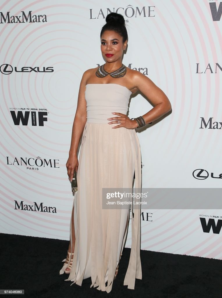 Regina Hall attends the Women In Film 2018 Crystal + Lucy Awards at The Beverly Hilton Hotel on June 13, 2018 in Beverly Hills, California.