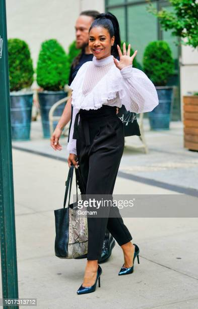 Regina Hall is seen on August 15 2018 in New York City