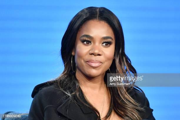 "Regina Hall of ""Black Monday"" speaks during the Showtime segment of the 2020 Winter TCA Press Tour at The Langham Huntington, Pasadena on January 13,..."