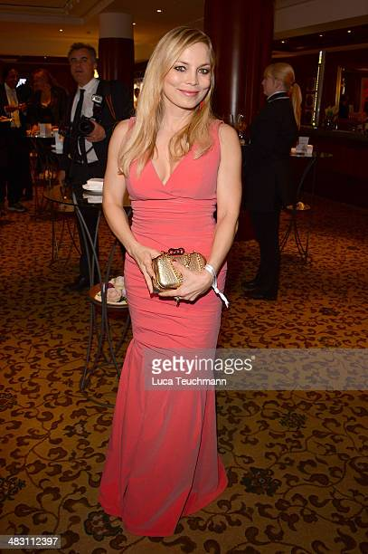 Regina Halmich attends Felix Burda Award 2014 at Hotel Adlon on April 6 2014 in Berlin Germany